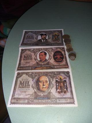 Propagandas elecciones y monedas...