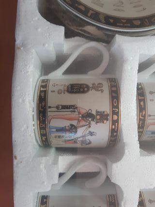Juego de cafe de Egipto