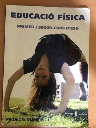 Llibre Educació física primer i segon d'eso