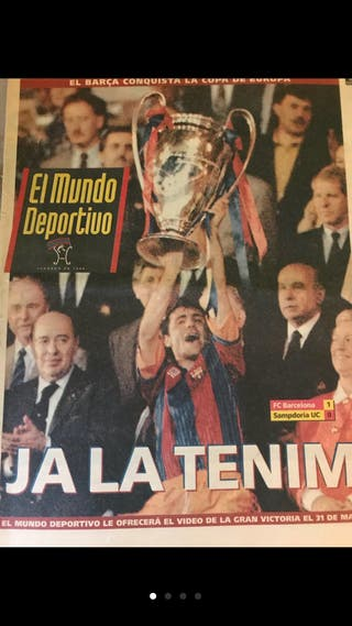 Diario mundo deportivo histórico