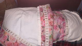 Conjunto de saco y capota de niña
