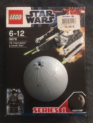 LEGO STAR WARS 9676 - TIE INTERCEPTOR & DEATH STAR