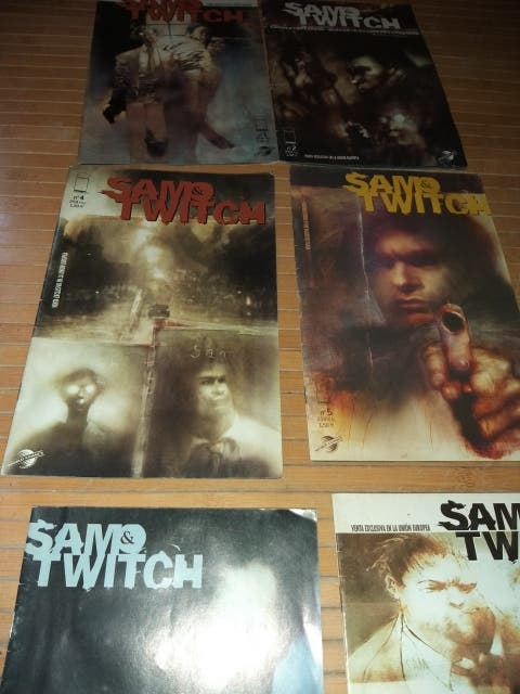 8 Cómics SAW&TWITCH