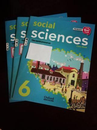 Libros Social Sciences 6 Primaria Oxford