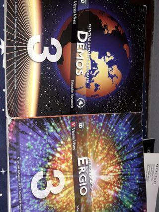 libros de ciencias sociales geografia y fisica y q