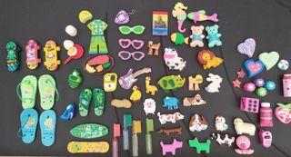 Colección gomas de borrar