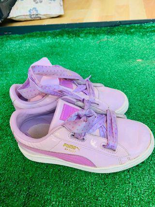 Zapatillas puma niña 32