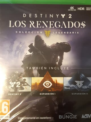 Juego Los Renegados para Xbox One. Precintado