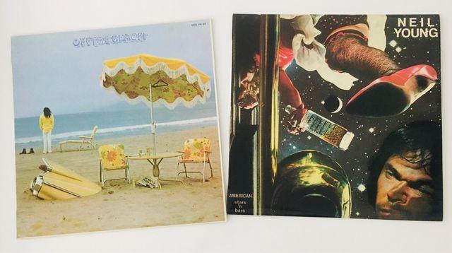 Lote 2 discos de NEIL YOUNG 2 Discos Vinilos 2 LP