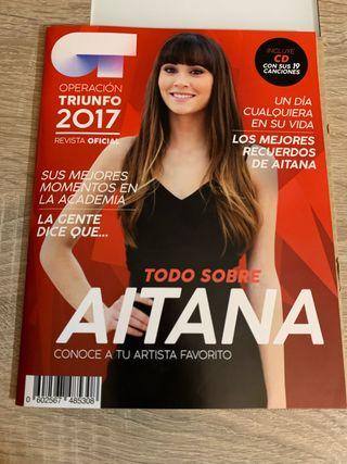 AITANA OCAÑA - SUS CANCIONES - OT 2017