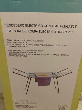 TENDEDERO DE ROPA ELÉCTRICO.