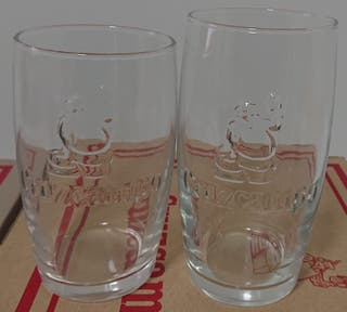 Cruzcampo 24 vasos con relieve