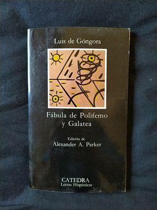 Fábula de Polifemo y Galatea. Luis de Góngora