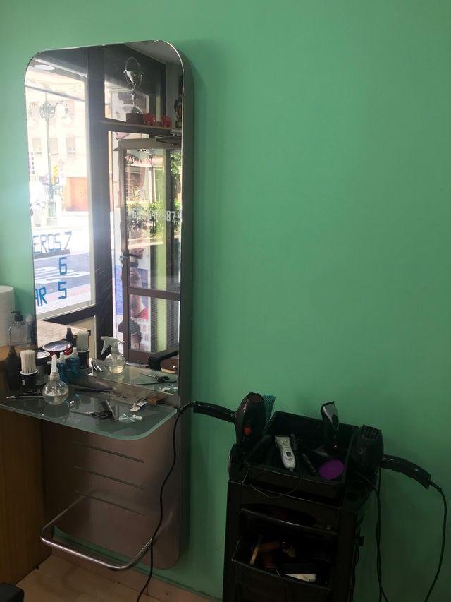 Tocadores de peluqueria barberia