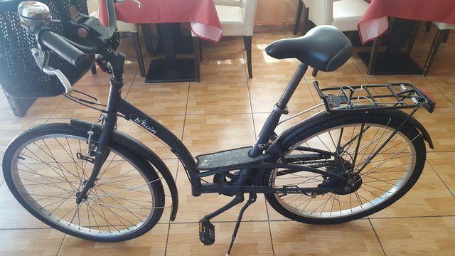 bici paseo mujer vintage btwin elops.3 city bike