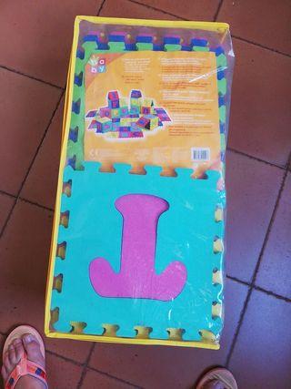 puzzle suelo para bebe
