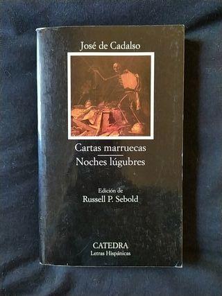 Cartas marruecas- Noches lúgubres. José de Cadalso