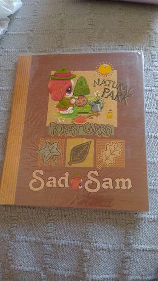 carpeta precintada Sad Sam cartas perfumadas