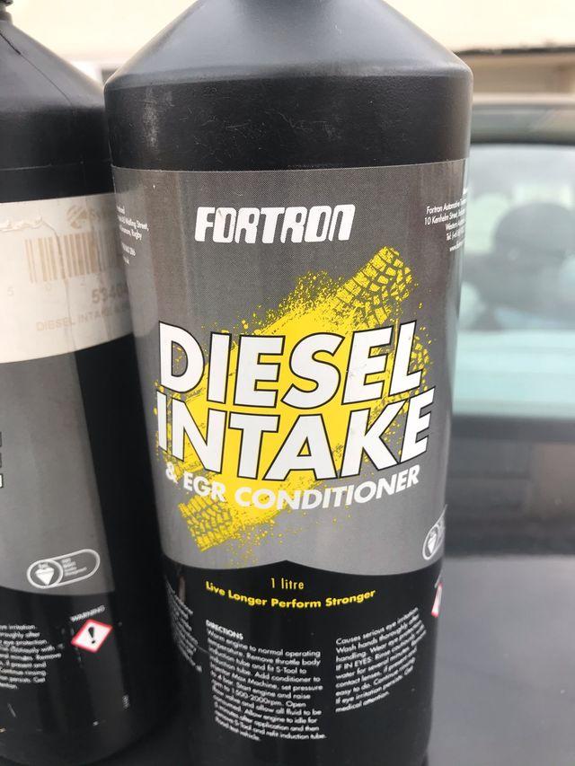 Diesel intake egr intake conditioner