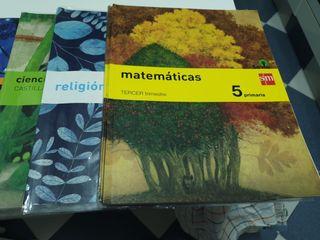 lote libros 5° PRIMARIA