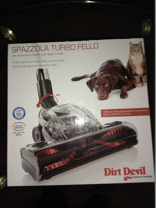 Cepillo Turbo para pelos de animales