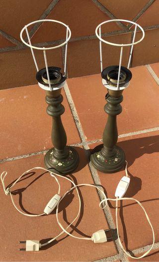 Lámpara mesita de noche (2 unidades)