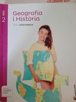 libro geografía y historia (sociales) 2n ESO