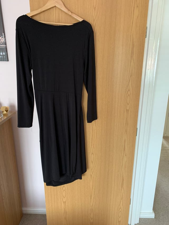Black going out dress