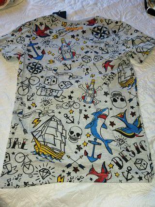Camiseta niño Desigual nueva 11/12