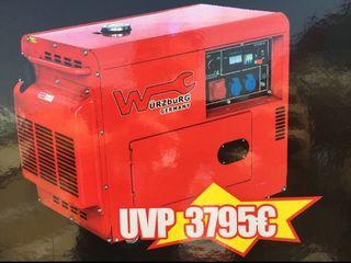 Generador diésel 6500 w Trifasica/ Monofasica