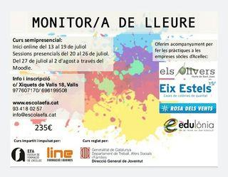 CURS MONITOR/A DE LLEURE