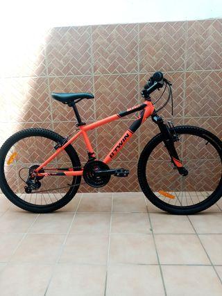bicicleta para niños 24 pulgadas.