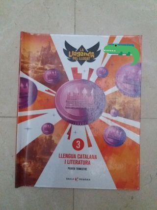 libro Llengua catalana i literatura 3r primari