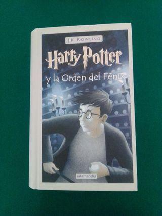 """""""Harry Potter y la orden del Fénix"""" J.K. Rowling"""