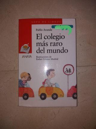 libro El colegio más raro del mundo