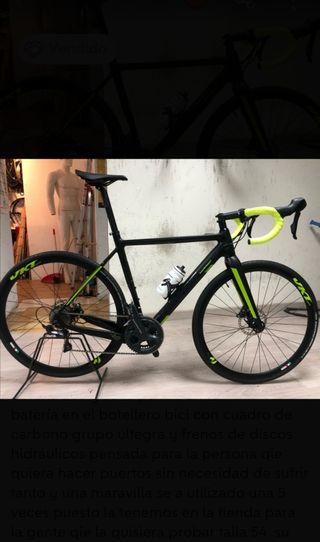 bicicleta eléctrica montana VEKTOR 12,3 kg