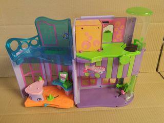 Lote Polly Pocket 6 casas o maletines