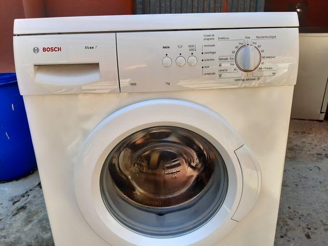 lavadora Bosch 7 kg