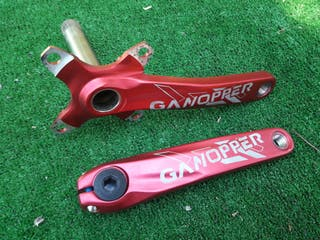 bielas ganopper 175mm mtb enduro dh