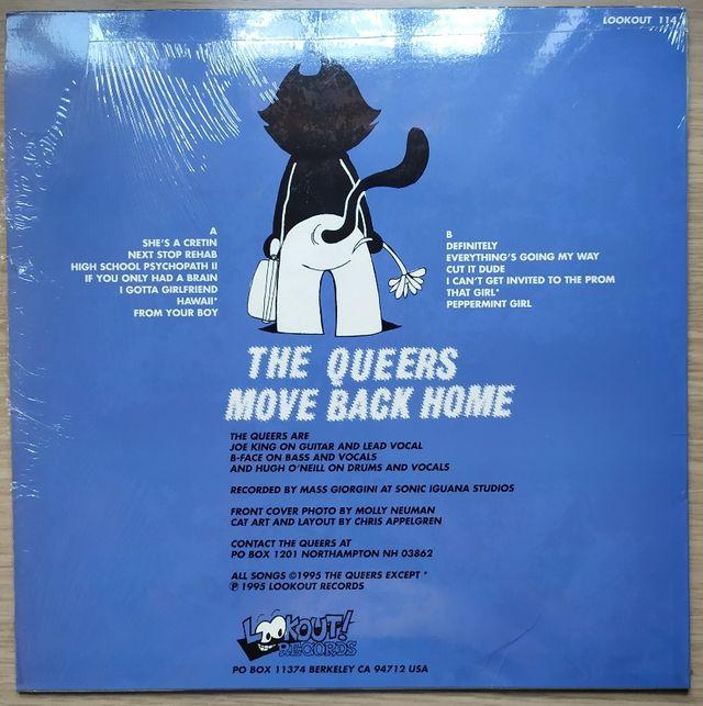 Disco de Vinilo The Queers Mover Back Home