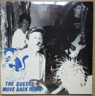 Disco de Vinilo The Queers Mover Back Home