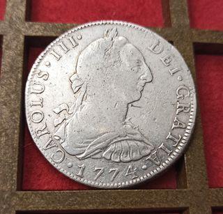 Monedas 8 reales México Lima Potosí Zacatecas ...