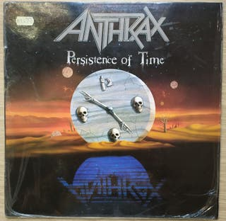 Disco de Vinilo Anthrax Persistence Of Time