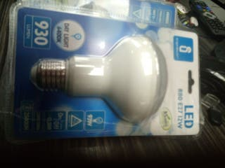 Pack 5 bombillas LED 12w R80