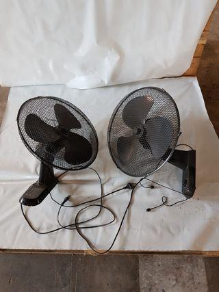 ventiladores de pared