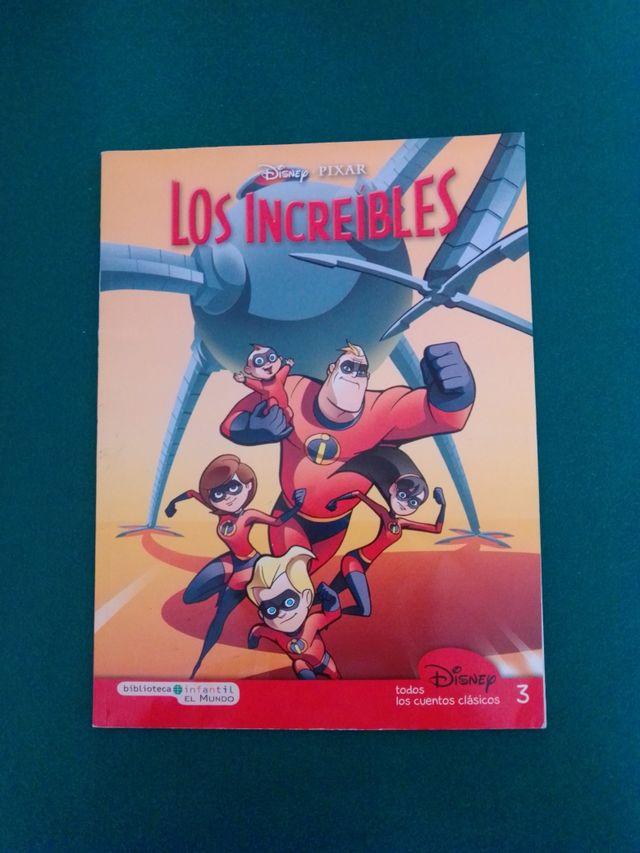 """Cómic """"Los increíbles"""" Disney Pixar"""