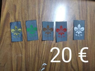 insignias scouts / scout