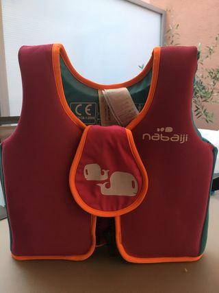 Chaleco flotador espuma natación niños Nabaiji