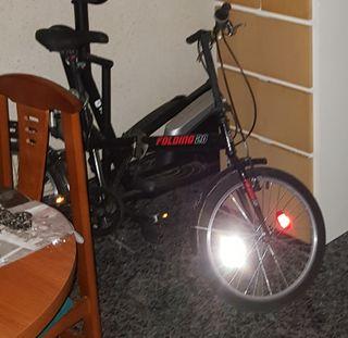 bicicleta plegable modelo folding 20