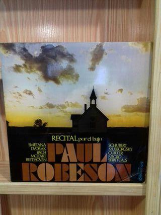 Vinilo Paul Robeson Recital por el bajo